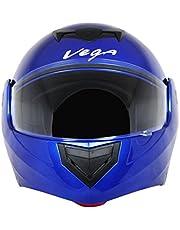 Vega Crux DX Flip-Up Helmet (Blue, L)