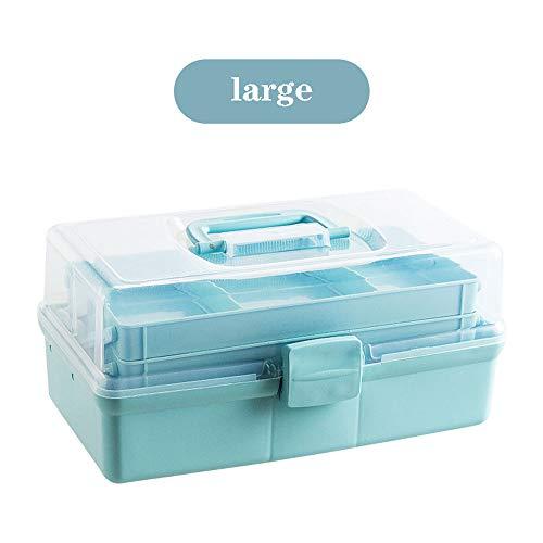 PLID Caja Medicina Caja Farmacia Multicapa Portátil