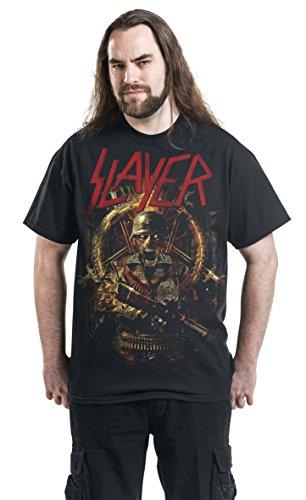 Slayer Comic Book Cover Männer T-Shirt schwarz XL 100% Baumwolle Band-Merch, Bands, Nachhaltigkeit