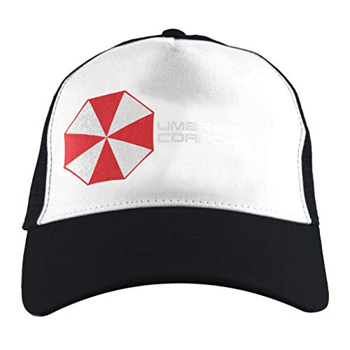 Cloud City 7 Resident Evil Paraplu Corporation Logo, Trucker Cap Wit/Zwart