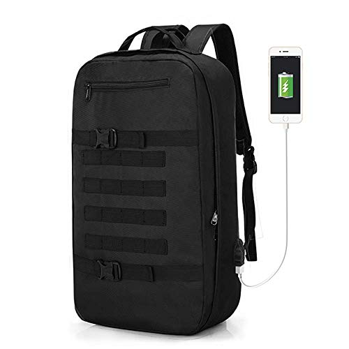 Travel Laptop Backpack, Skateboard Backpack, Professional Business Backpack Bag with USB Charging Port, Water Resistant,Reflective Strip (Skateboard Bag)