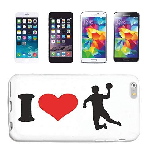 Helene Handyhülle kompatibel für iPhone 7+ I Love Handball Coach HANDBALLTURNIER Handball Spieler HANDBALLVEREIN Handball TRAINERHardcase Schutzhülle Handyco