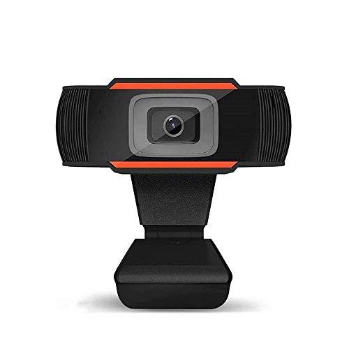 Cámara web USB con micrófono Full HD PC, cámara web para ordenador portátil, cámara de sobremesa, gran angular de visión plegable y giratoria diseño Webcam