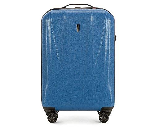 WITTCHEN 56-3P-961-90 - Maleta rígida (57 x 36 x 20 cm, 2,5 kg, 33 L, policarbonato), Color Azul
