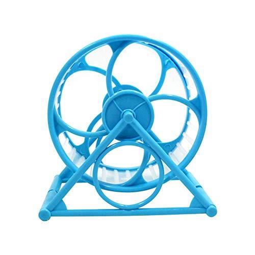 Meigold rotierendes Rad für kleine Tiere, Fitnessrad aus Kunststoff, Hamster-Rad für kleine Tiere