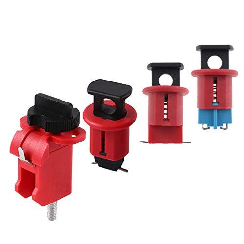 Nobranded 4 Enclavamientos Generales de Interruptores Automáticos MCB en Miniatura, Duradero