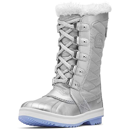Sorel Kids Girl's Disney X Tofino II Frozen 2 Boot (Little Kid/Big Kid) Pure Silver/White 6 Big Kid