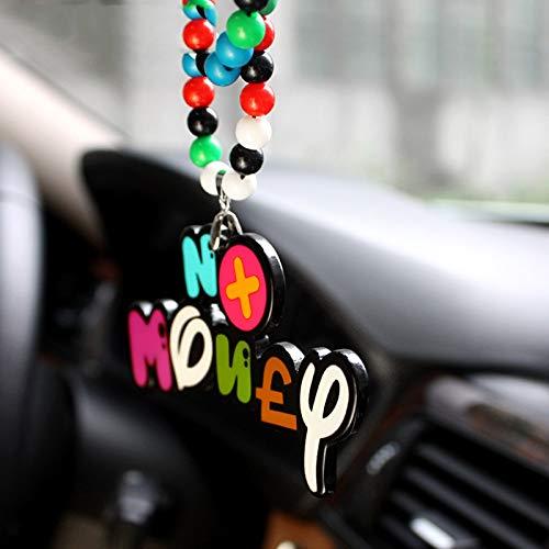 Colgante de coche para coche, divertido colgante de espejo de visión trasera, adorno divertido para colgar, accesorios de estilo de coche