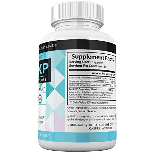 (2Pack) Keto XP Pills Advanced Weight Diet Management Keto XP Max Tablets Capsules 800 mg Pure Keto Fast Supplement for Energy, Focus - Exogenous Ketones for Men Women 3