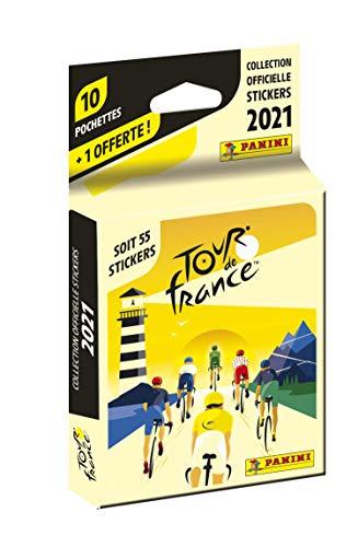 Panini France SA- Tour DE France 2021 Blister 10+1 offerte Francia 2021-Blister Regalo (004190KBF11)