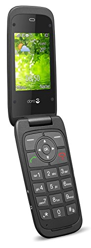 Doro Liberto 650 Mobiltelefon (2,0 Megapixel Kamera, Webbrowser) rot