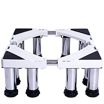 Washing Machine Fridge Base Universal Appliance Base Liftable Washing Machine Floor Trays (Size : 12 Legs)