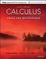 Calculus: Single and Multivariable, Loose-Leaf Print Companion