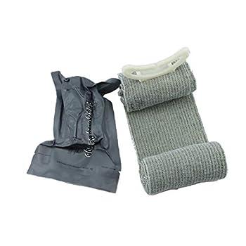 1pc Trauma Bandage Israélien D'urgence Bandage De Premiers Soins Médicaux De Compression Outil Bandage Traumatologie D'urgence Pour Bandage Survival Battle Outdoor (4 Pouces) Alimentation Pratique