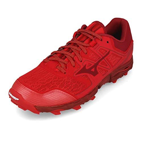 Mizuno Wave Hayate 6, Zapatillas de Running para Asfalto Hombre, Rojo (Cred/Biking Red 56), 39 EU