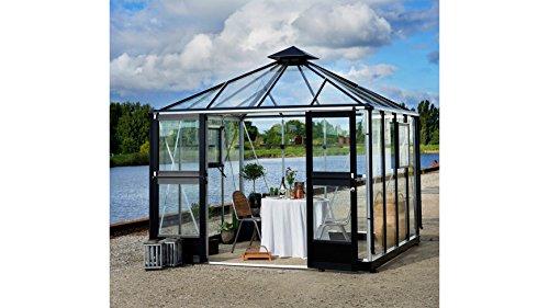 Juliana Oase - Invernadero (aluminio, 8,8 m², cristal de seguridad de 3 mm)