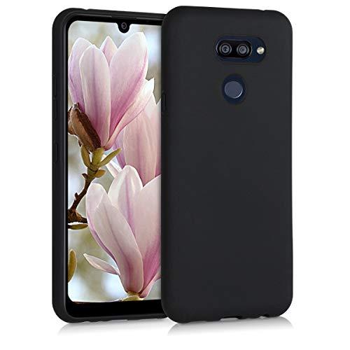 kwmobile Hülle kompatibel mit LG K40S - Hülle Silikon - Soft Handyhülle - Handy Hülle in Schwarz matt