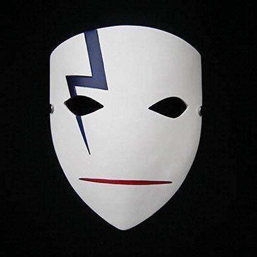 Plus Sombre Que Masque Noir Résine De Synthèse Halloween Cosplay Déguisement déguisement Par Le Caoutchouc Plantation tm