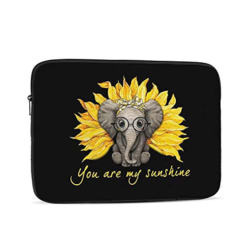 KXT You are My Sunshine Laptop Sleeve Case,Briefcase Cover Protective Bag,Ultrabook Netbook Carrying Handbag, for Women Men