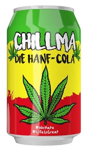 Chillma - Die Hanf-Cola - Superlecker und gechillt - 24er Tray - Inklusive Pfand
