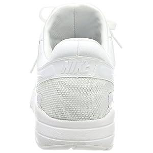 Nike AIR MAX ZERO ESSENTIAL MENS running-shoes 876070-100_10.5 - WHITE/WHITE-WOLF GREY-PURE PLATINUM