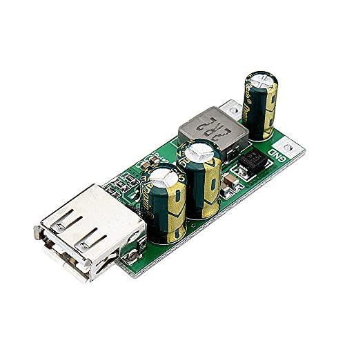 Componentes de la computadora Accesorios eléctrico 3pcs 2 0W DC-DC 3.3-5V a 5V-12V Convertidor de carga USB Módulo QC3.0 2.0 FCP Cargador rápido para la batería de litio Li-PO de Iones de Li-PO de 186
