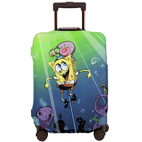 Reisegepäckabdeckung Spongebob Schwammkopf Fahrrad Reisegepäckabdeckung Koffer Protector Waschbare Gepäckabdeckungen