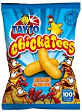 TAYTO Chickatees - Chicken flavour snacks from Ireland (25 x 17g packs)