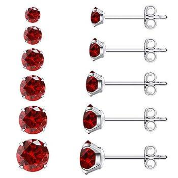 Best red stud earrings Reviews