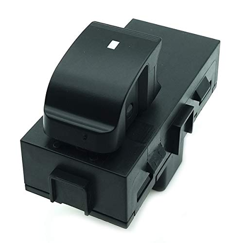 BOPART Power Window Switch Front Right, Rear Left or Right for 2007 2008 2009 2010 2011 Chevy Silverado Tahoe Suburban HHR Avalanche, GMC Acadia Sierra & More Replaces 22895545, 15888174, 901-149