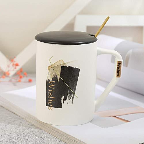 Tazza personalizzata tazza colazione grande tazza termica tazza caffe -Bianco opaco cup-D Regali per Festa Della Mamma SanValentino Compleanno Natale Anniversario