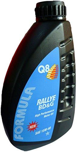 Q8 Huile moteur Formula Rallye BD&G haute performance minérale sae 15W-40 1 l