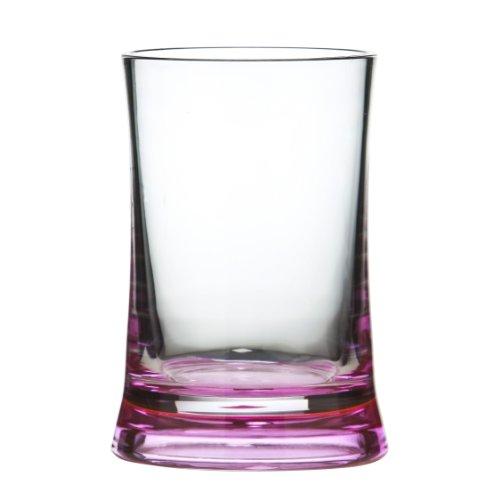 Premier Housewares 1601351 - Vaso de diseño Moderno (acrílico, 11 x 8 x 8 cm), Color Negro