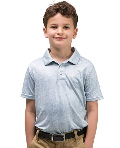 Jolt Gear Jungen Youth Golf Dri Fit Polo Shirt, atmungsaktiv Performance Fit