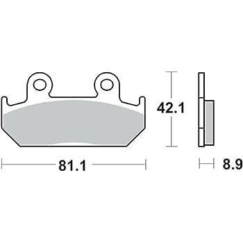 Bremsbelag TRW Sinter Street Hochleistungsbelag CBR 600 F PC25 91-94 hinten
