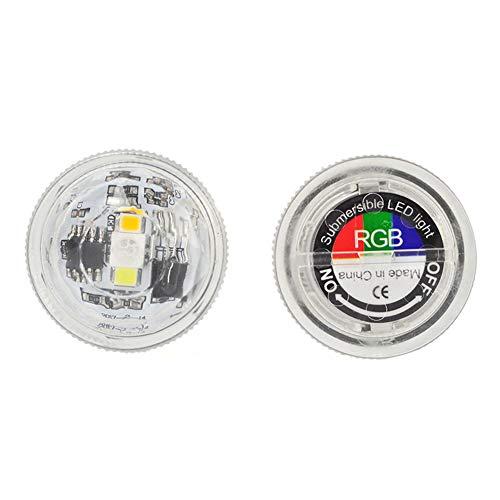 Gaocunh LED Schwimmleuchten RGB Wasserdichte Poolbeleuchtung LED Unterwasser Licht Teichbeleuchtung Badewanne Licht [Fernbedienung]