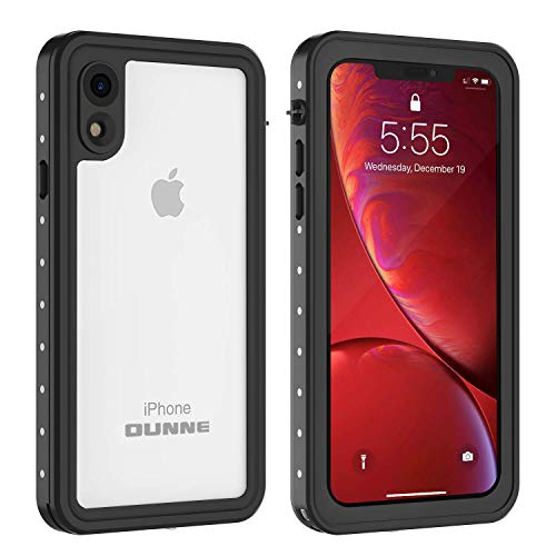 iPhone XR Waterproof Case, OUNNE Full Sealed Underwater Cover Dustproof Snowproof Shockproof Waterproof Phone Case for iPhone XR (Clear)