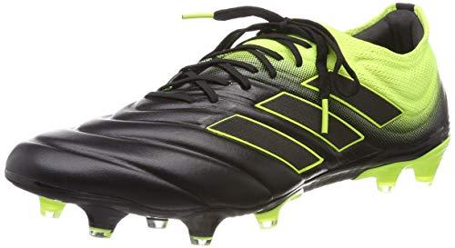adidas Copa 19.1 FG, Zapatillas de Fútbol Hombre, Negro (Core Black/Solar Yellow/Core Black Core Black/Solar Yellow/Core Black), 42 EU ✅
