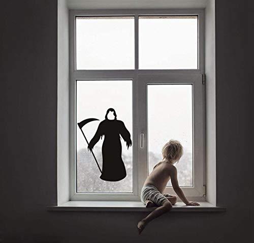 Europa und Amerika Halloween Aufkleber Wanddekoration Tod Glas Aufkleber Dekoration Wandaufkleber