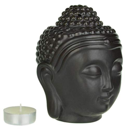 Piquaboo Duftlampe Buddhakopf - Groß - 14 cm