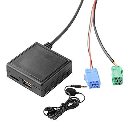 Beada Módulo para Coche 6 Pines Aux TF Adaptador USB Reproductor de Radio Inalámbrico Módulo de Audio Estéreo para 2005-2011