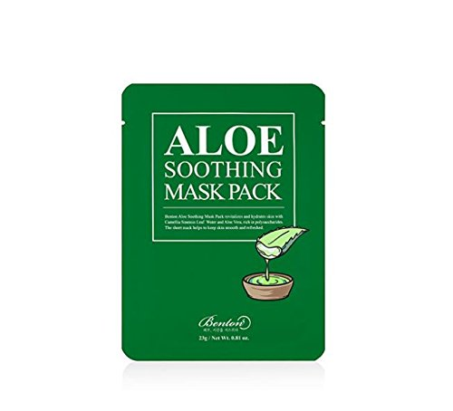 Benton Masque apaisant à l'aloès 23g x 10pcs