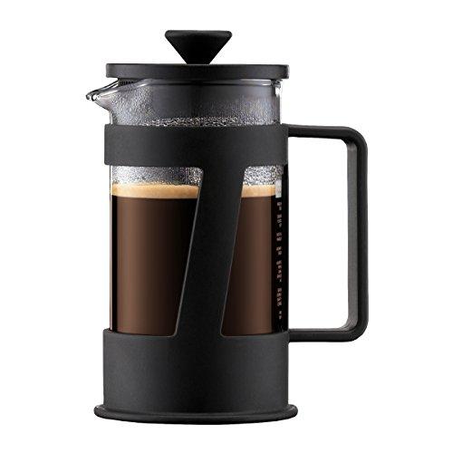 Bodum - 10891-01 - Crema - Cafetière à Piston 3 Tasses - 0,35 L - Noir