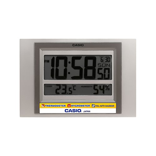 Casio Square Resin Digital Wall Clock (19.5 x 29 x 2.4 cm)