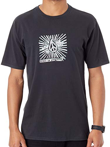 Volcom Tee Shirt Prog Star Noir (S, Noir)