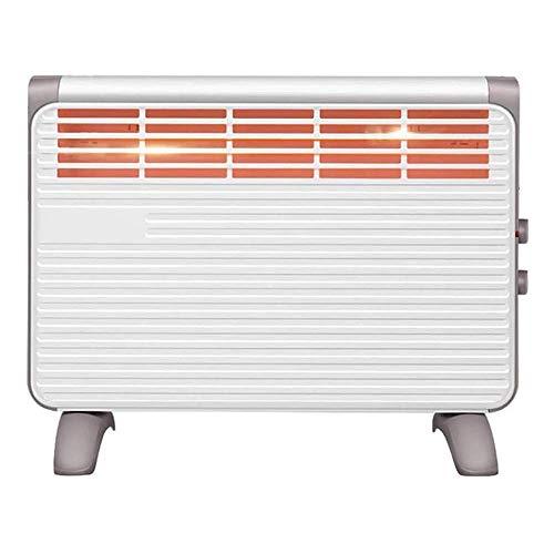 Calentador de radiador eléctrico - Radiador de convector eléctrico de estilo europeo portátil con rejilla de secado - Horno de calentamiento rápido - Infrarrojos eléctricos de 1900 W para ba