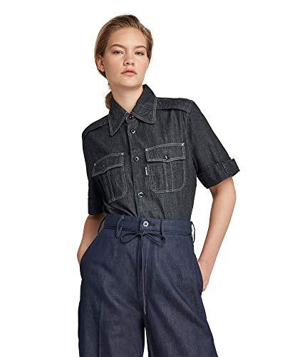 G-STAR RAW Womens Officer Shirt, Rinsed C653-082, M