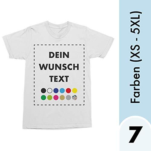 Heren T-shirt met gewenste tekst bedrukken Amazon Custom Tshirt Designer - T-shirt zelf vormgeven. T-shirt bedrukt met tekst naar wens