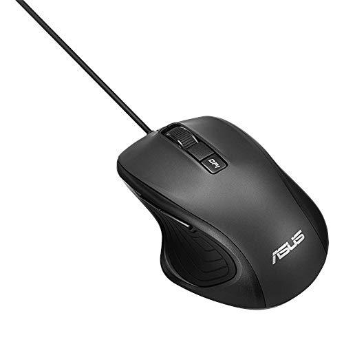 AUSS UX300 PRO ergonomische Maus (32000 dpi, DPI Schalter, optischer Sensor, für Rechtshänder)