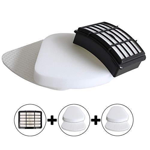 Mr.ZZ Kit for Shark Navigator Lift-Away NV350, NV351, NV352, NV355, NV356E, NV357, NV360, NV370, NV391, UV440, UV490, UV540 Replacement Filter Set,2 Foam+2 Felt+1 HEPA Filters for Shark Part # Xff350